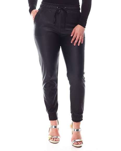 Bebe - PU Leather Jogger