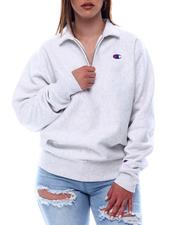 Champion - Oversized Reverse Weave 1/4 Zip Pullover-2616657