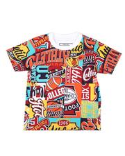Parish - All Over Patch Graphic Print Tee (2T-4T)-2623166