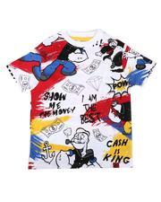 T-Shirts - Popeye Doodle Print Tee (4-7)-2623194