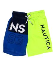 Swimwear - Color Block Swim Trunks (8-20)-2607436