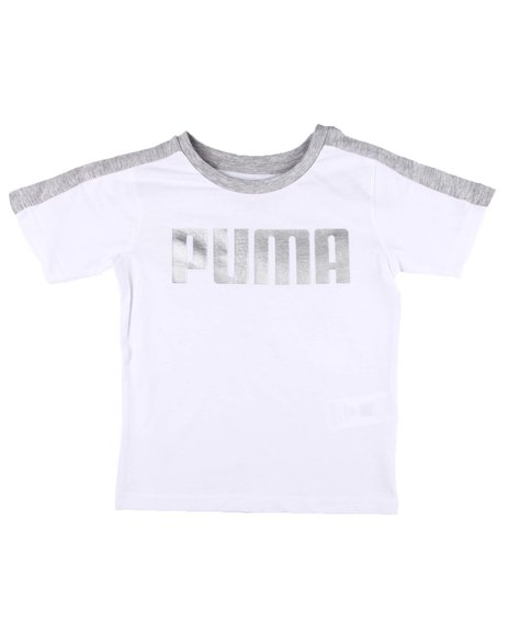 Puma - Rebel  Bold Pack Pieced Tee (4-7)