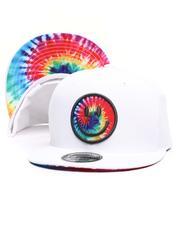 Buyers Picks - Tie-Dye Smiley Snapback Hat-2621973