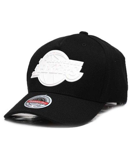 Mitchell & Ness - Los Angeles Lakers Casper Redline Precurve Snapback Hat