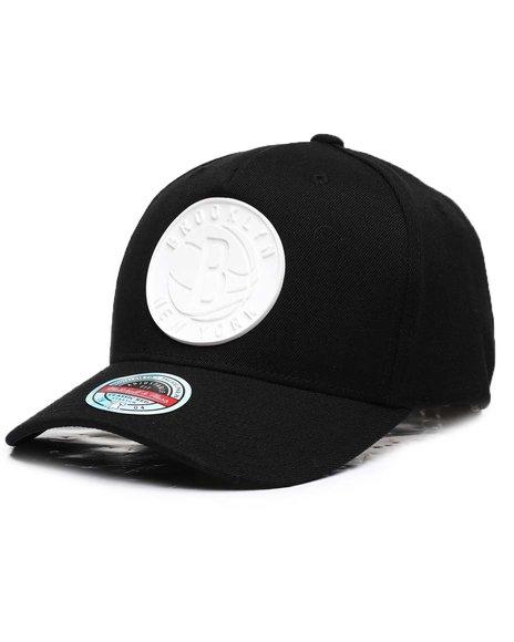 Mitchell & Ness - Brooklyn Nets Casper Redline Precurve Snapback Hat