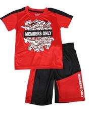 Members Only - 2 Pc Name Tag Tee & Mesh Shorts Set (8-20)-2621706