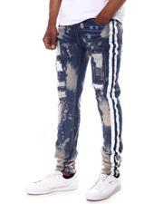 Buyers Picks - Tape Jean w Distressed Bleach Spots-2623938