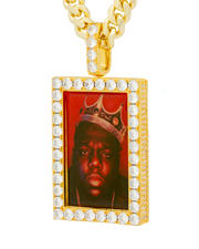 King Ice - Notorious B.I.G. x King Ice The King of New York Necklace-2624767