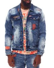 Born Fly - AMSTERDAM DENIM JACKET-2624760