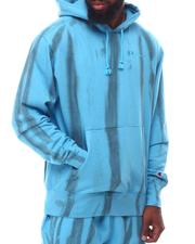Going-Out-Outfits - LIGHTWEIGHT FLEECE HOODIE FEATHER DYE Hoodie-2624293