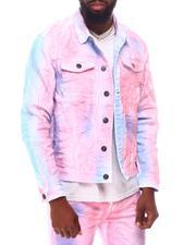 Denim Jackets - Pink Cloud Denim Jacket-2623987