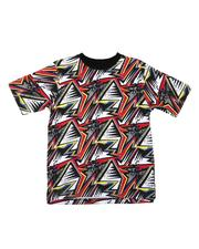 Parish - Geometric All Over Print Tee (8-20)-2623151