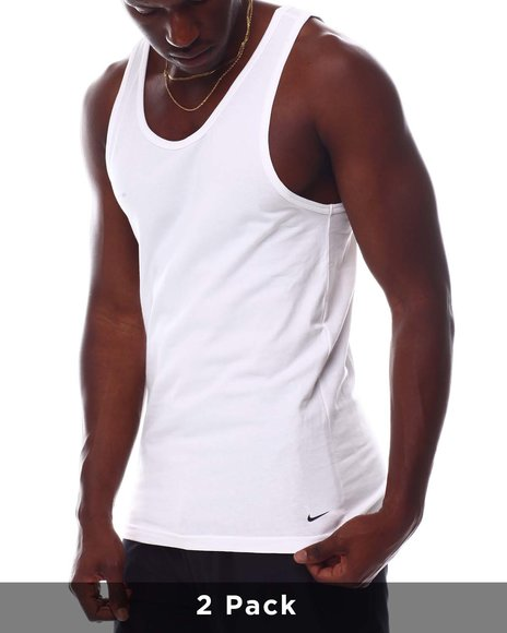 Nike - 2 Pack of Everyday Cotton Tank Tops
