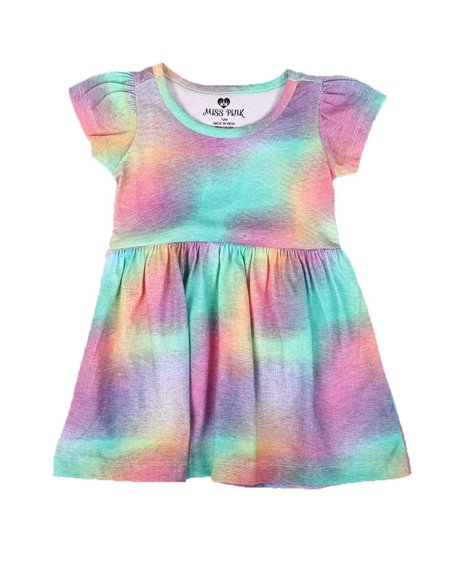 La Galleria - Tie Dye Cap Sleeve Dress (Infant)