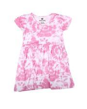 La Galleria - Tie Dye Cap Sleeve Dress (2T-4T)-2623084