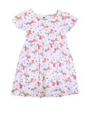 La Galleria - Unicorn Print Cap Sleeve Dress (2T-4T)-2623100