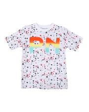Parish - Paint Splatter Print Tee (8-20)-2623108