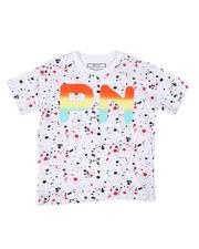 Parish - Paint Splatter Print Tee (4-7)-2623113