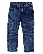 Phat Farm - Skinny Stretch Cut & Sew Moto Jeans (4-7)-2605612