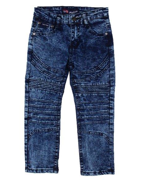 Phat Farm - Skinny Stretch Cut & Sew Moto Jeans (4-7)