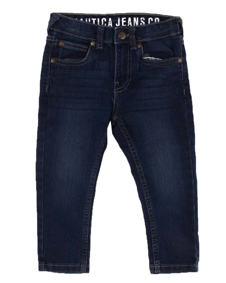 Nautica - Skinny Fit Stretch Jeans (2T-4T)
