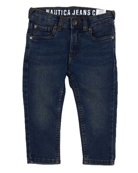 Nautica - Straight Fit Stretch Jeans (2T-4T)