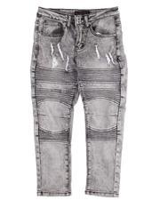 Jeans - Rip & Repair Stretch Jeans (8-18)-2612700