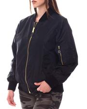Outerwear - Rothco Lightweight MA-1 Flight Jacket (Plus Size)-2612832