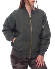 Outerwear - Rothco Lightweight MA-1 Flight Jacket (Plus Size)-2612890