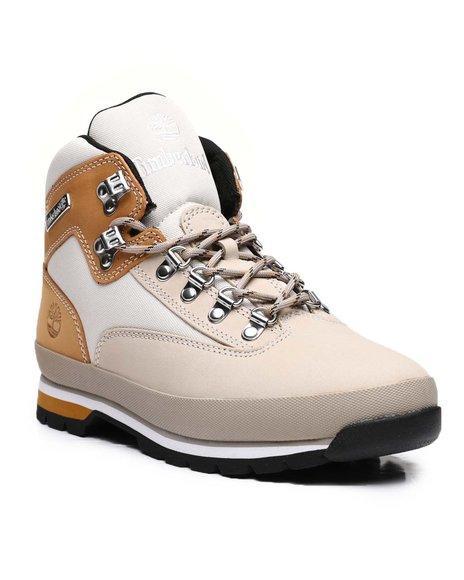 Timberland - Euro Hiker Mixed-Media Mid Hiker Boots