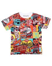 Parish - All Over Patch Graphic Print Tee (4-7)-2623156
