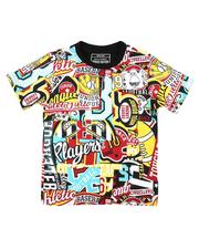 Parish - All Over Patch Graphic Print Tee (4-7)-2623174