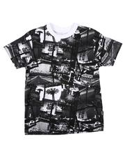 T-Shirts - All Over Photo Print Tee (8-20)-2623267