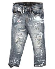 Jordan Craig - Distressed 5 Pocket Jeans (2-7)-2623296