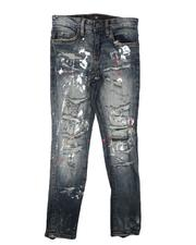 Jordan Craig - Distressed 5 Pocket Jeans (8-16)-2623377