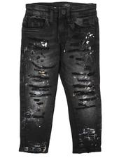 Jordan Craig - Distressed 5 Pocket Jeans (2-7)-2623409
