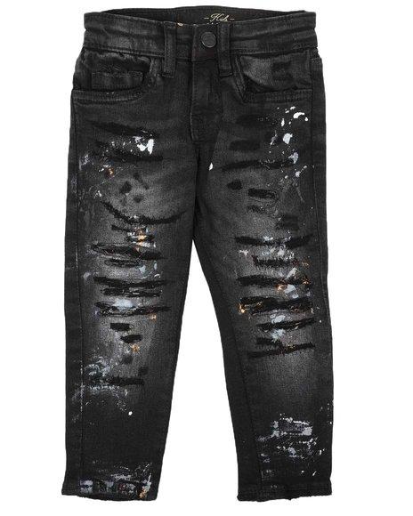 Jordan Craig - Distressed 5 Pocket Jeans (2-7)