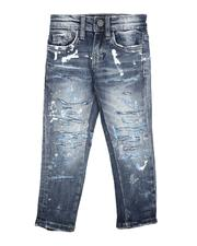 Jordan Craig - Distressed 5 Pocket Jeans (2-7)-2623419