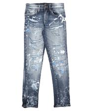 Jordan Craig - Distressed 5 Pocket Jeans (8-16)-2623430