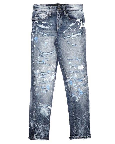 Jordan Craig - Distressed 5 Pocket Jeans (8-16)