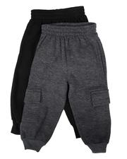 Bottoms - 2 Pk Cargo Joggers (2T-4T)-2624848