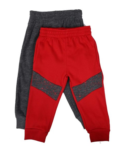 Arcade Styles - 2 Pack Jogger Pants (2T-4T)