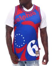 Mitchell & Ness - PHILADELPHIA 76ERS Blown Out Fashion Tank-2626761