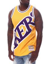 Mitchell & Ness - LOS ANGELES LAKERS Blown Out Fashion Tank-2626816