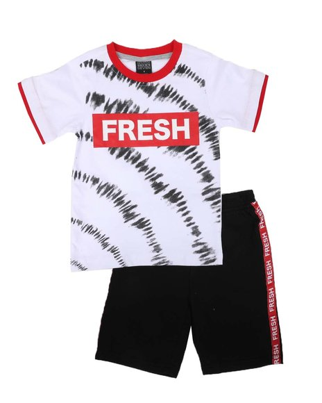 Arcade Styles - 2 Pc Printed Tee & Shorts Set (Infant)