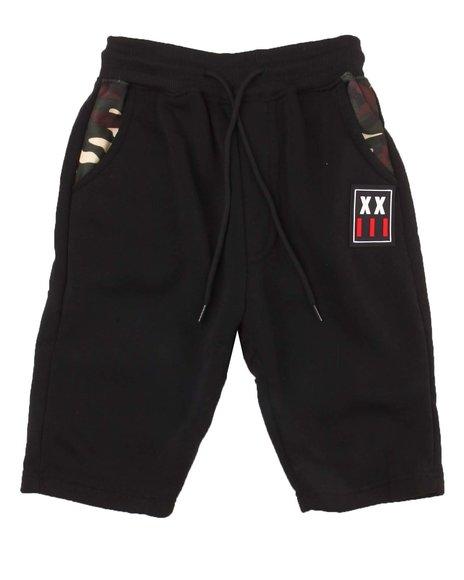 Arcade Styles - Patch Fleece Shorts (4-7)