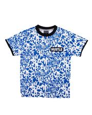 Boys - All Over Print Ringer Tee (8-18)-2611064