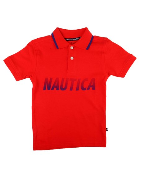 Nautica - Chest Logo Polo Shirt (2T-4T)
