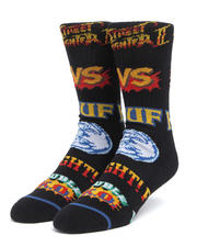 DRJ SOCK SHOP - Street Fighter Graphic Socks-2624787
