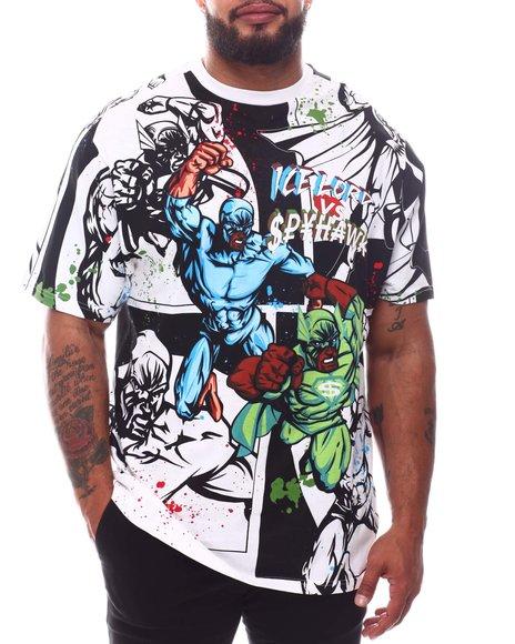 Akademiks - Superhero T-Shirt (B&T)